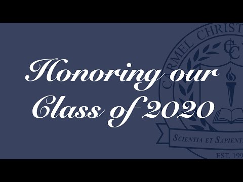 Honoring Our Class Of 2020