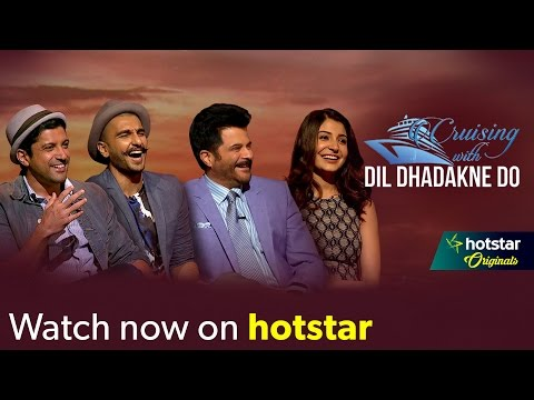 Cruising with Dil Dhadakne Do - An exclusive Chat Show with the stars of the movie