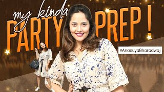 My kinda PARTY PREP! | Get Ready #WithMe - Birthday Look 2020 | #AnasuyaBharadwaj Latest Video