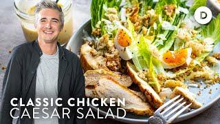 EASY Caesar Salad Recipe!