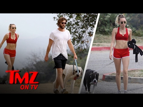 Miley Cyrus & Liam Hemsworth: Back To Their Old Ways | TMZ TV