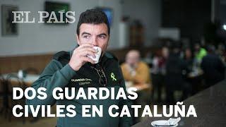 Así es la vida de dos guardias civiles en Cataluña |España