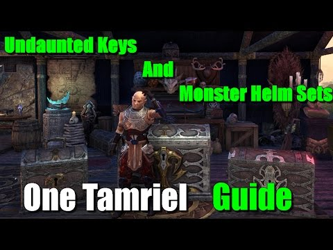 ESO: Undaunted Keys & Monster Helm Sets Guide 11.4.16 (Explained)