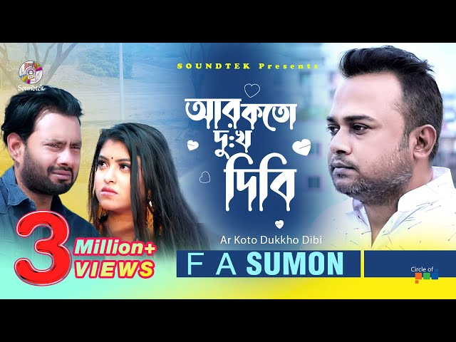 Ar Koto Dukkho Dibi by F A Sumon mp3 song Download