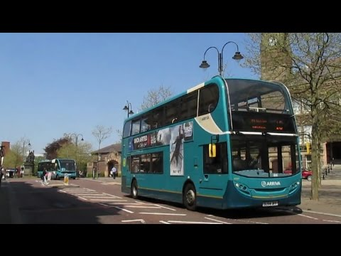 Buses & Trains on Merseyside and St Helens Spring 2016