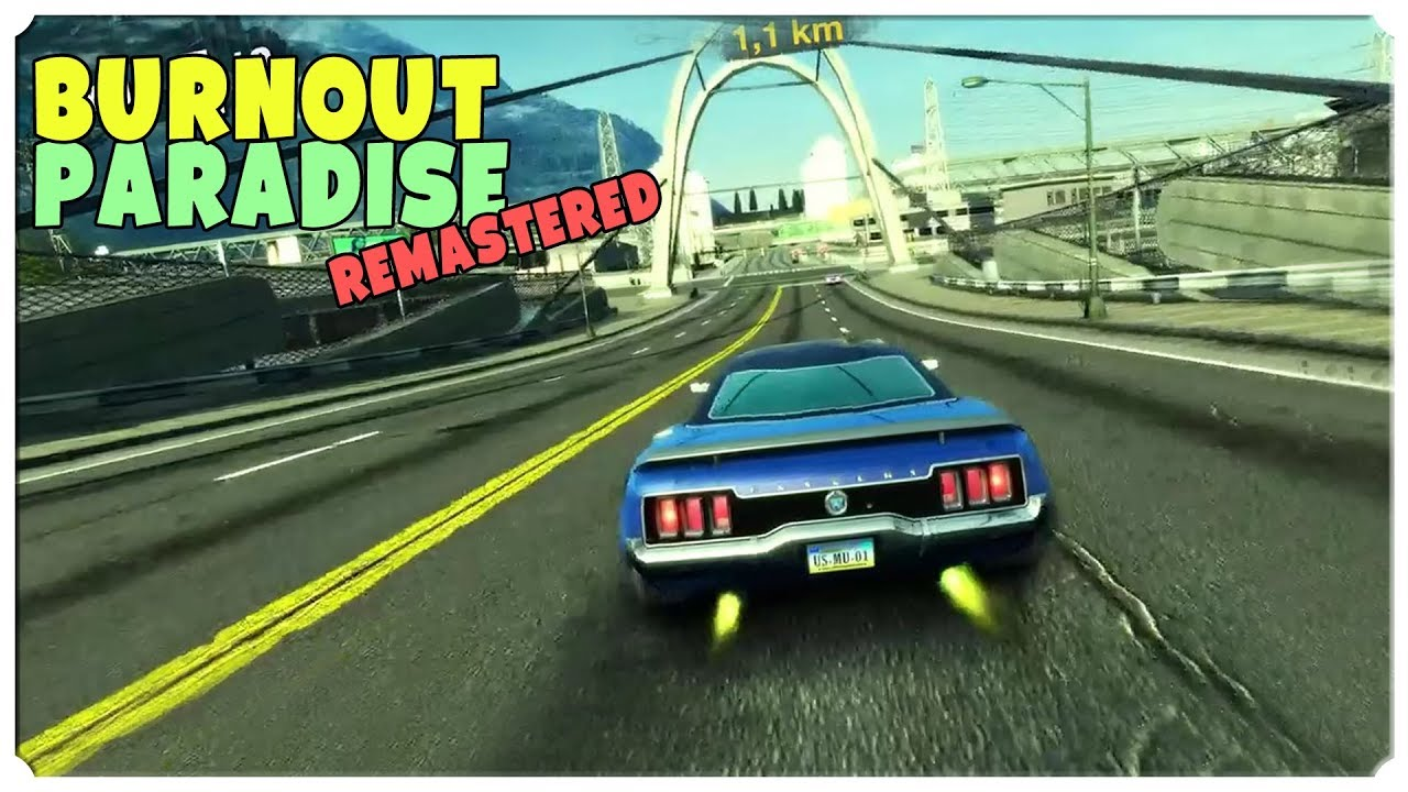 burnout paradise remastered xbox one x youtube. Black Bedroom Furniture Sets. Home Design Ideas