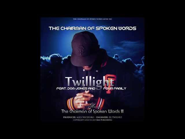 Trailer: Twilight ft Dom Jones and Four Family, from The Chairman of Spoken Words III upcoming cd.