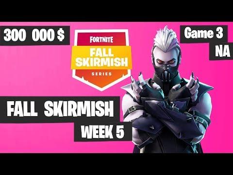 Fortnite Fall Skirmish Week 5 Game 3 NA Highlights (Group 2) - Royale Flush