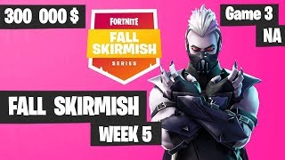 Fortnite Fall Skirmish Week 5 Game 3 NA Highlights (Group 2) - Royale Flush