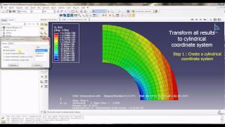 ABAQUS Tutorial 2 : Thermal gradient + Pressure on spherical tank