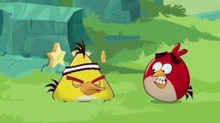 Злые птички мультик - Энгри Бердс - Время Чака (S1E1) || Angry birds Toons