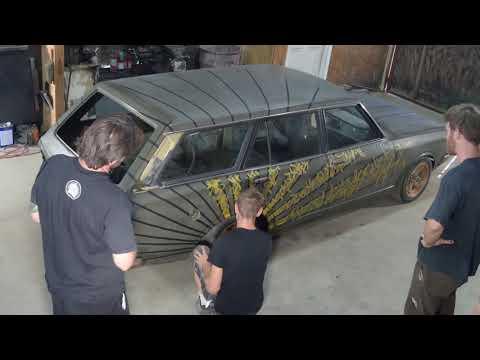 Toyota Corona Wagon Sharpie/Marker Art Car