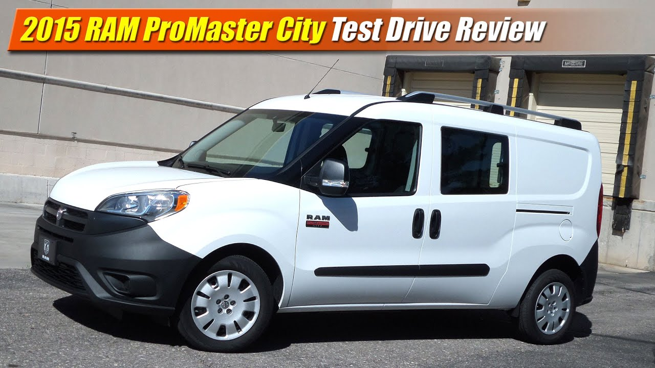 2015 ram promaster city test drive review doovi. Black Bedroom Furniture Sets. Home Design Ideas