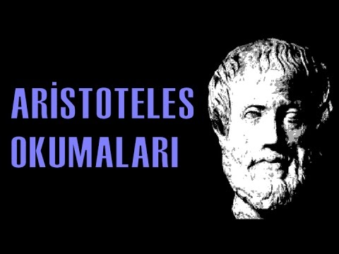 İlk Çağ Felsefesine Giriş: Aristoteles