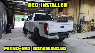 Rebuilding A Wrecked 2018 Ford F-250 Part 3