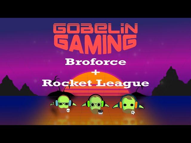 Broforce + Rocket League
