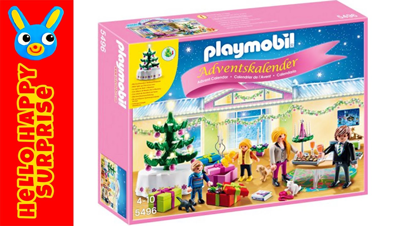 playmobil advent calendar 5496 adventskalender toy. Black Bedroom Furniture Sets. Home Design Ideas