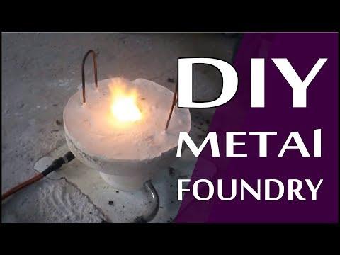 DIY Aluminium Furnace Foundry