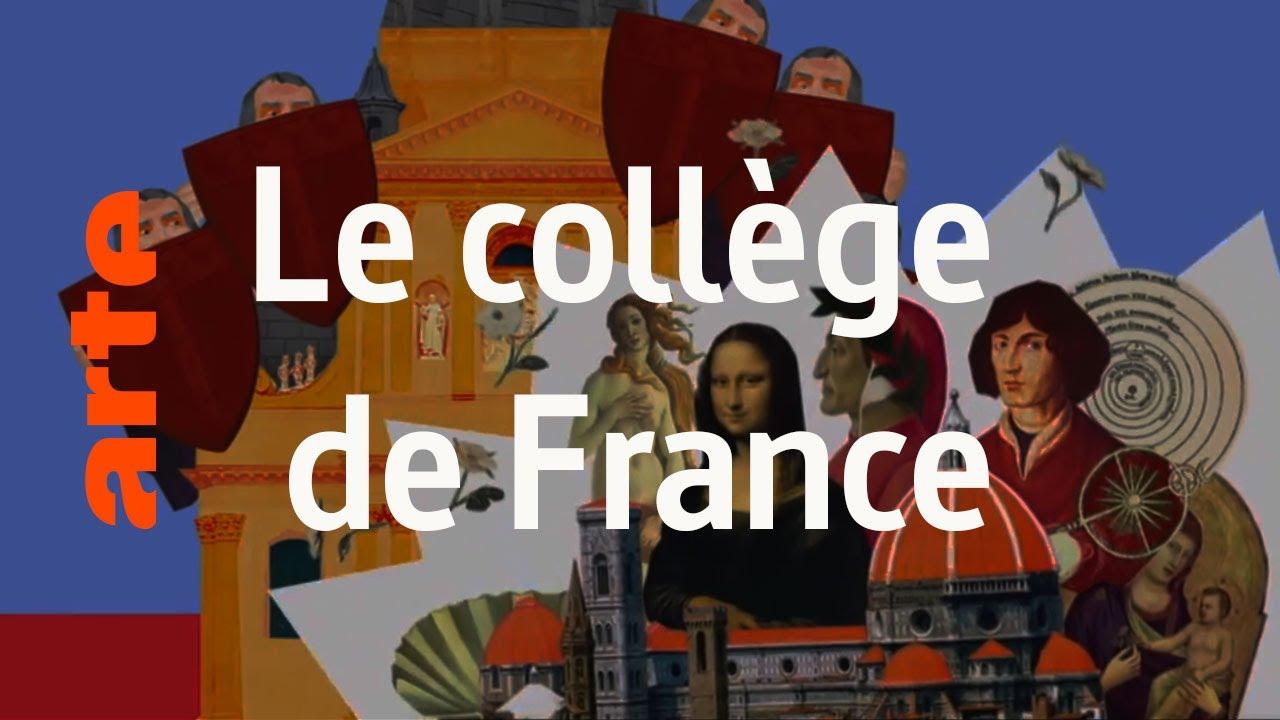 Le collège de France - Karambolage - ARTE