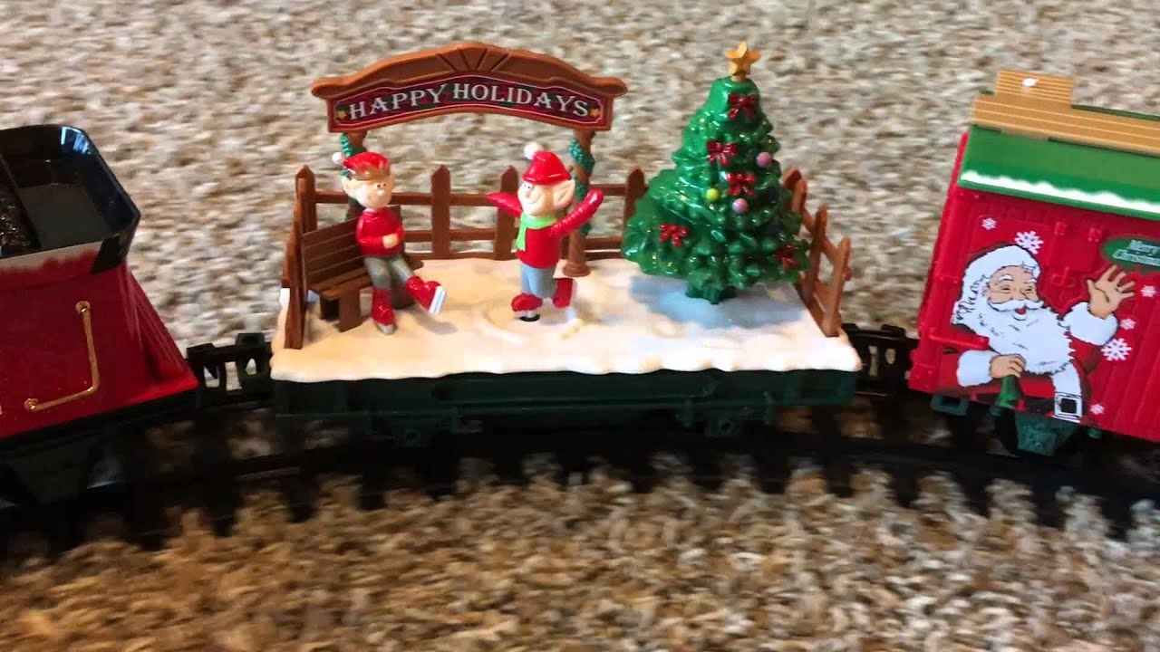 North Pole Express G-Scale Train Set - YouTube
