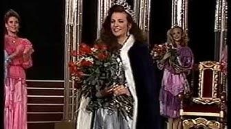 Miss Suomi 1989 (juhlapukukierros ja missin kruunaus) Osa 3