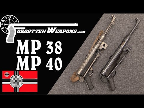 The German WWII Standby: The MP38 and MP40 SMGs indir