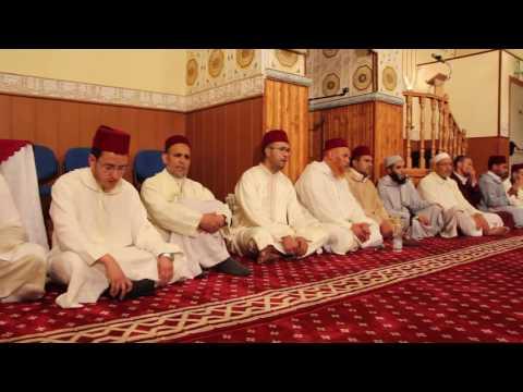 إستقبال بعثة المقرئين و المرشدين الدينيين من طرف فدرالية إتحاد المساجد بإسبانيا