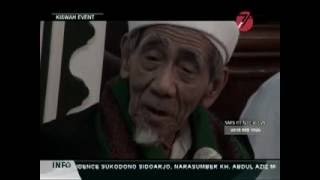 KH Maimun Zubair ; 06/08/2016 Ceramah Singkat Di H-7 Wafatnya KH Muhammad Subadar