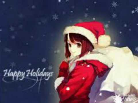 Anime Merry Christmas.Anime We Wish You A Merry Christmas Low