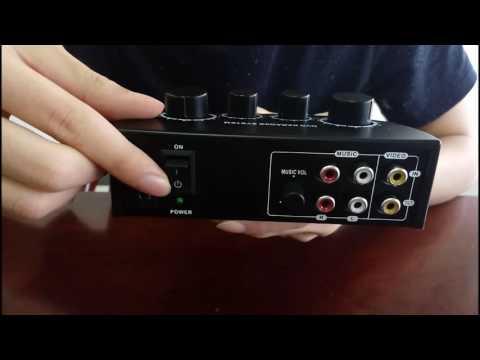 n3 Karaoke sound mixer