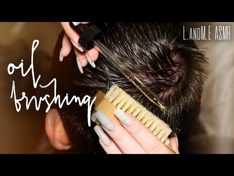 Asmr Real Person Scalp Brushing Exfoliating With Jojoba