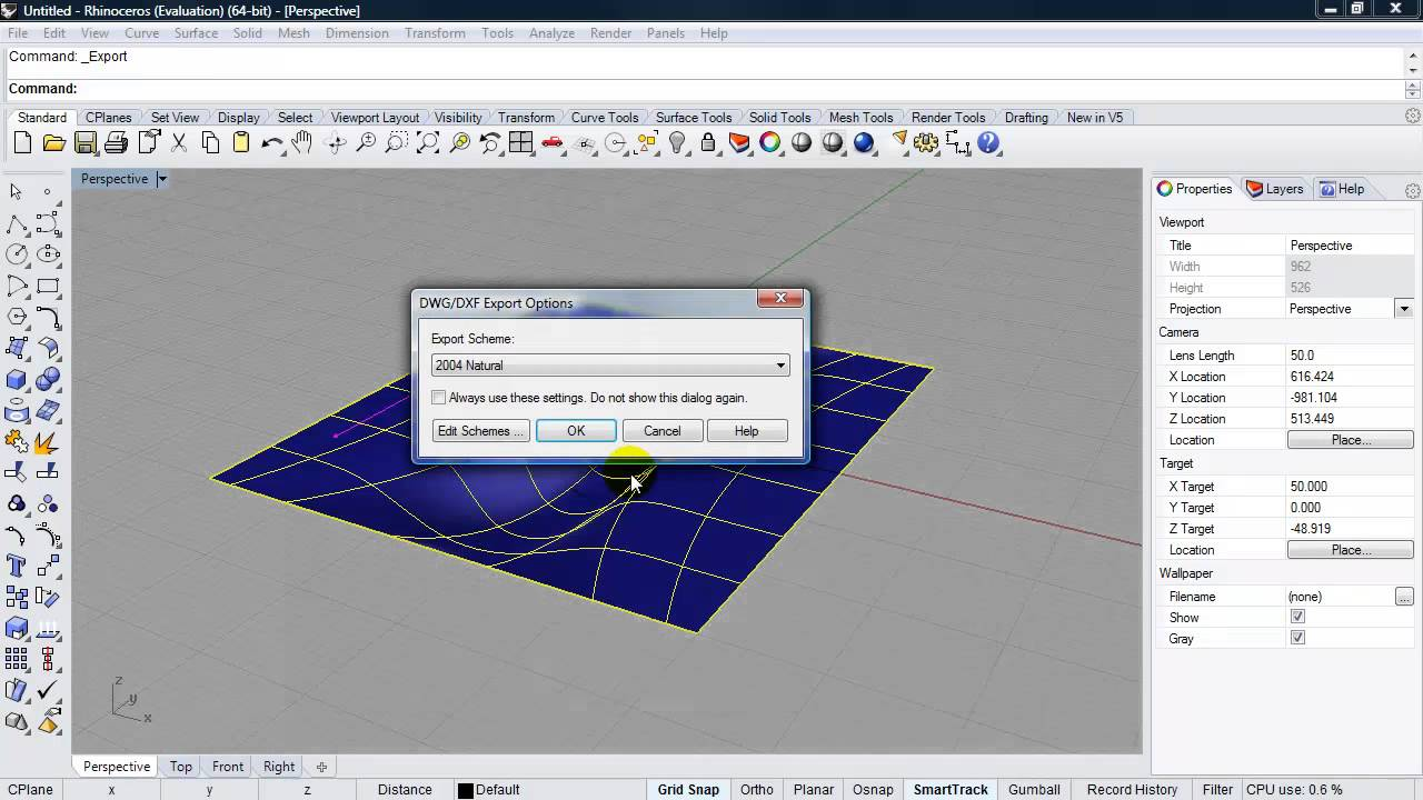 Workflow between Rhino and 3DS Max