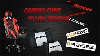 Hello ladies and gentlemen we are back with another video! This is a short and easy tutorial on how to install / setup the pillows that come with your gaming ...