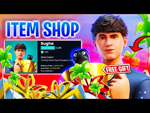 *giveaway* Fortnite Item Shop Today *NEW* BUGHA SET! New Bugha Skin [July 20th, 2021]