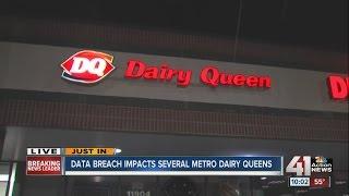 Dairy Queen locations hacked