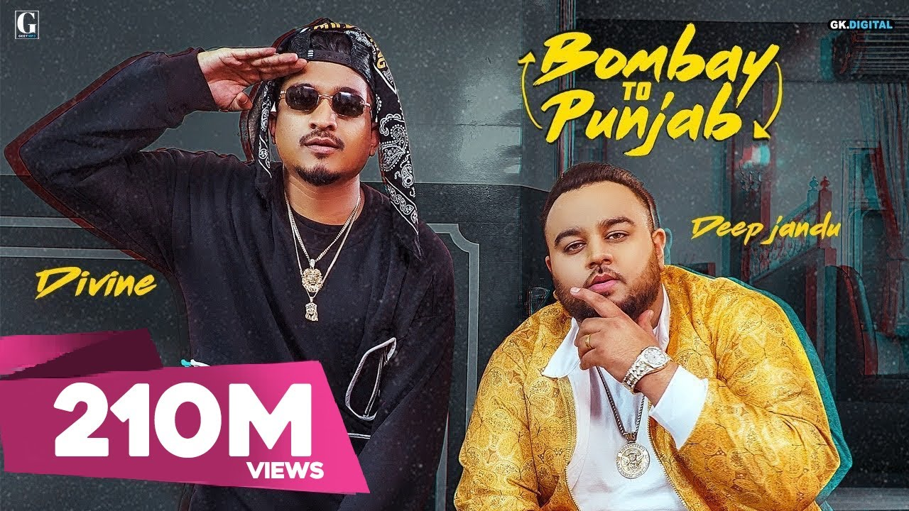 Download Bombay To Punjab : DEEP JANDU Ft. DIVINE (Full Video) Karan Aujla   Satti Dhillon   Geet MP3