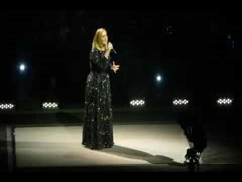 Adele Hello 8-12-2016 Los Angeles, California Staples Center Concert