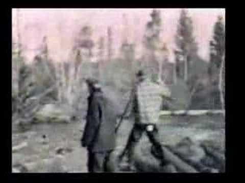 Log Drive Miramichi 1930