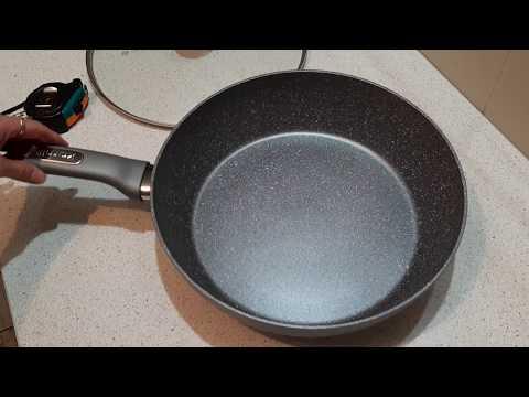 🍳 Сковорода Kamille с гранитным покрытием KM-4297GR, 30 см - жарим оладушки