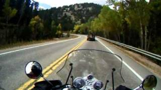 Riding my 1998 BMW R1100R Anniversary Edition in the Rocky Mountains of Colorado