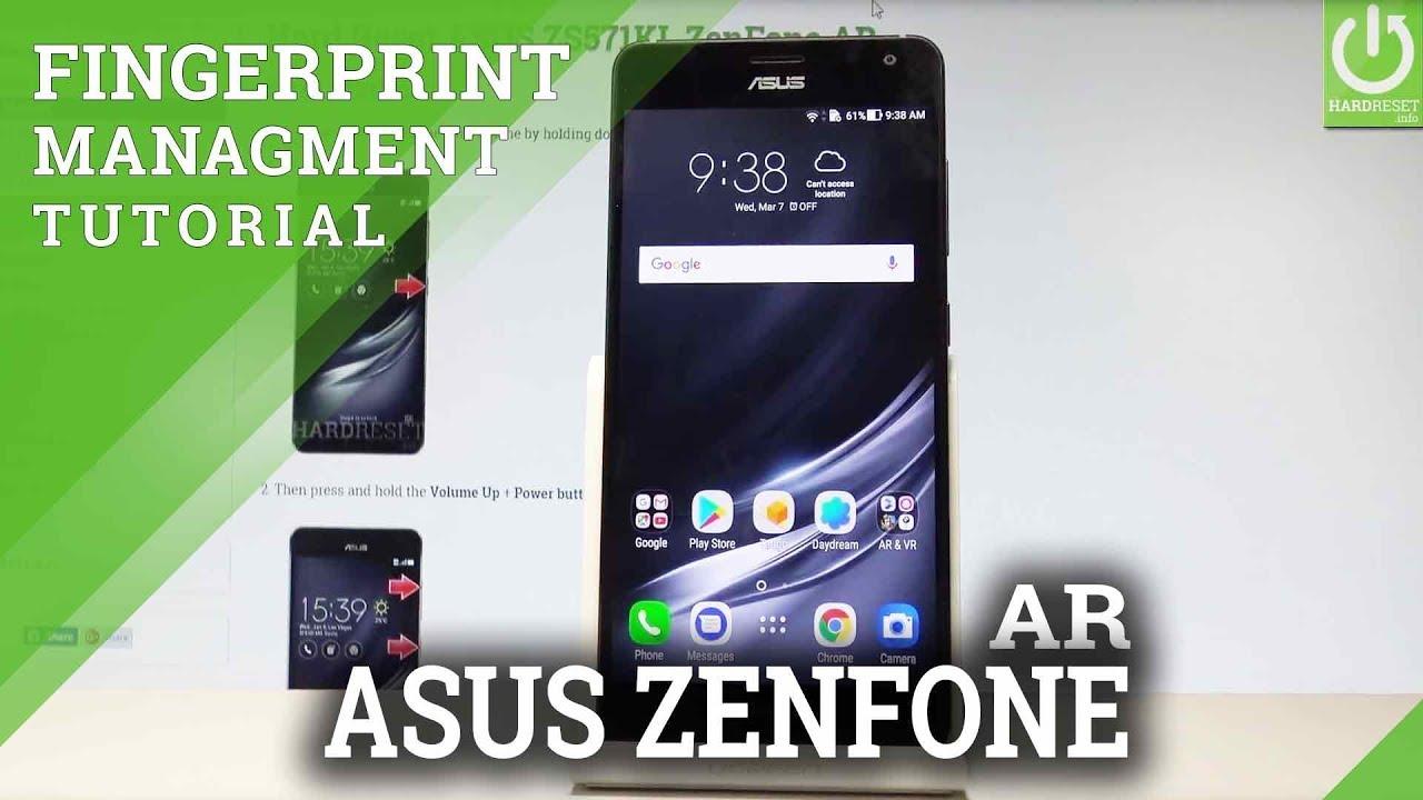 How to Add Fingerprint on ASUS ZenFone AR |HardReset info