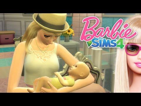 The Sims 4 Barbie #15 เด็กเอ๋ยเด็กดี