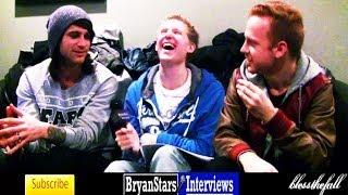 Blessthefall Interview #3 Beau Bokan & Eric Lambert 2013