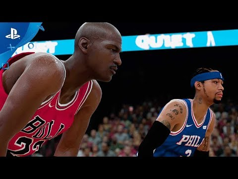 NBA 2K18 - All-Time Teams Trailer   PS4
