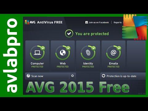 AVG 2015 Free Antivirus Install and Advanced Settings