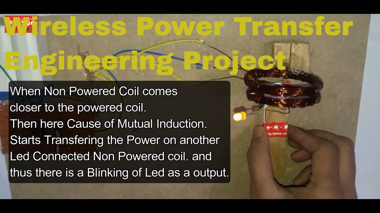 Wireless power transmission project in Hindi