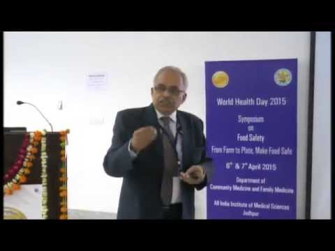 Dr Amitav Banerjee: Current Food Laws and Regulations