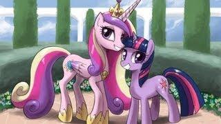 принцесса каденс и твайлайт