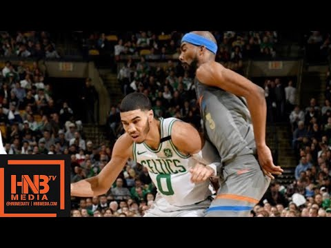 Oklahoma City Thunder vs Boston Celtics 1st Half Highlights / March 20 / 2017-18 NBA Season