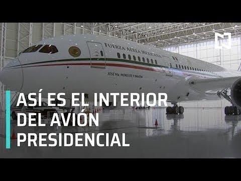Conoce el interior del avión presidencial antes de que lo vendan - Las Noticias